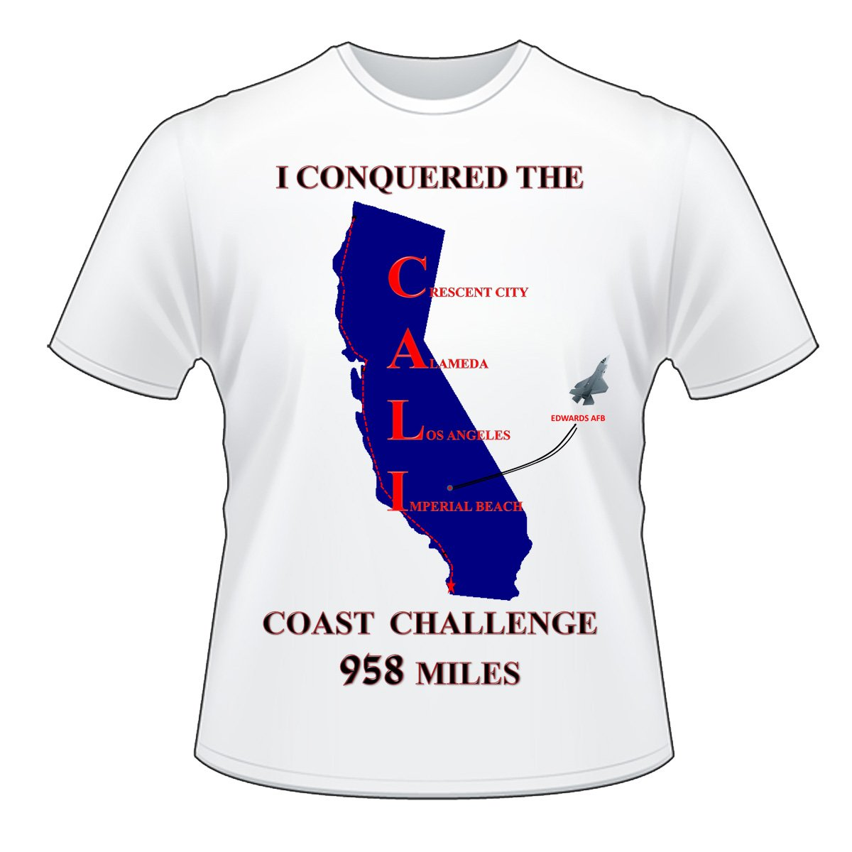 CALI RUN Shirt