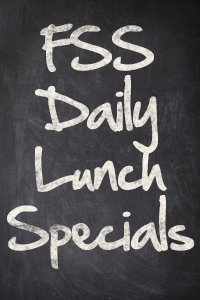FSS Lunch Specials